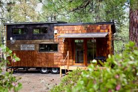 Tiny Home Builders Oregon Wood Iron Tiny Home Tiny House Town