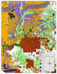 Colorado College Campus Map by Maps Colorado Plateau Cooperative Ecosystem Studies Unit