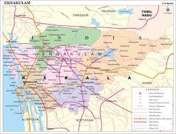 San Jose District Map by Cochin Map