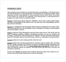 sample training manual template sample resturant training manual