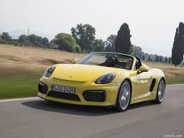 porsche boxster spyder 2016 2016 porsche boxster spyder color racing yellow front hd