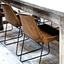 Rustic Industrial Dining Chairs Rustic Leather Dining Chair Chairs Dinette Chairs Dining Chairs