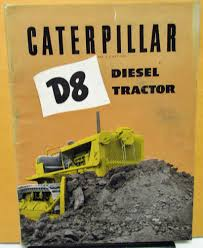 caterpillar dealer sales brochure d8 diesel tractor dozer construction