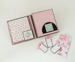 photo albums for babies baby girl photo album pink and black babies by callmecraftie
