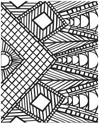 cool coloring pages for girls mosaic coloring pages bestofcoloring com