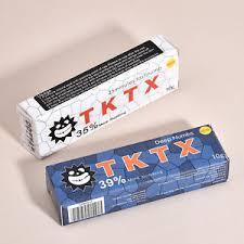 tktx 39 deep skin numbing cream for semi permanent tattoo