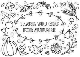 free printable coloring pages autumn coloring