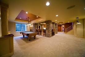 how to design a finished basement home interior decor ideas