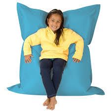 Giant Floor Pillows For Kids by Kids Giant Floor Cushion Indoor Outdoor Aqua