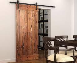 How To Make A Barn Door Track Diyhd 5ft 8ft Soft Close Single Door Sliding Barn Door Track