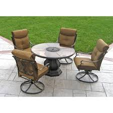 Better Homes And Gardens Outdoor Furniture Cushions by Better Homes And Gardens Mika Ridge 5 Piece Outdoor Dining Set