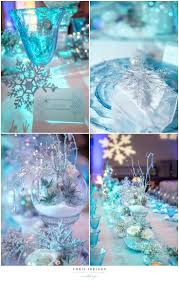 sweet 15 decorations centerpieces winter wonderland cakes