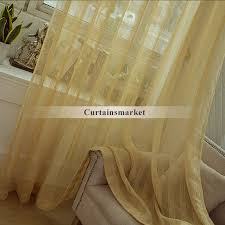 incredible light yellow sheer curtains ideas with lines patterned