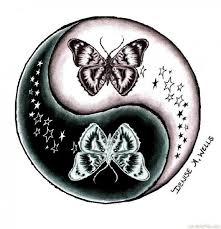 yin yang butterfly design http bestpickr com