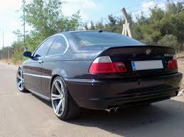 painted for bmw e46 trunk lip spoiler sedan coupe m3 orient blue