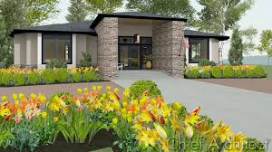Home Design Modern Style by Chief Architect Home Design Software Samples Gallery