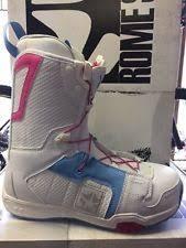 womens snowboard boots size 9 rome snowboard boots ebay