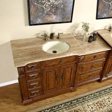 bathroom vanity with sink on right side 58 bathroom vanity furniture off center right side sink drawer