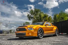 mustang 22 inch rims mustang on vcx concave with carbon lip vellano forged wheels
