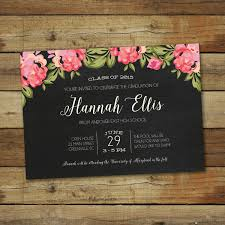 Wedding Invitation Cards Messages Outstanding Graduation Invitation Card Template 29 About Remodel