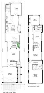 narrow home floor plans 3236 best narrow lot compact house plans images on