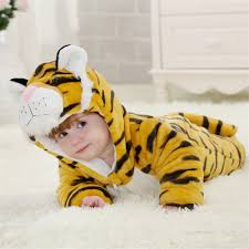 tiger toddler halloween costume aliexpress com buy doubchow babys toddlers cute yellow tiger