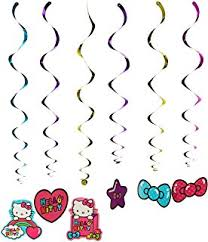 Hello Kitty Party Decorations Amazon Com Amscan Hello Kitty Party Favors Value Pack 48 Piece