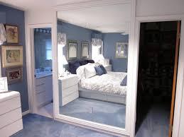 bedroom bold black framed floor mirror for bedroom use