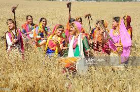 in a traditional punjabi dress during baisakhi pictures
