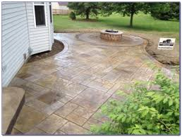 Stamped Patio Designs by Stamped Concrete Patio Designs Pictures Patios Home Decorating