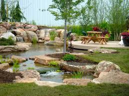 backyard fountain ponds home outdoor decoration
