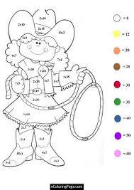 printable cowgirl coloring pages girls enjoy coloring