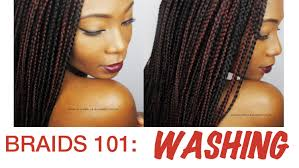 braids 101 how to wash box braids youtube
