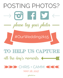 wedding signs template free printable wedding hashtag sign wedding hashtag