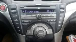 how to obtain your acura honda radio navigation serial code