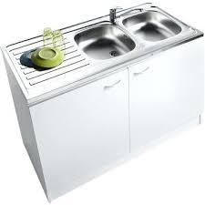 meuble bas evier cuisine meuble lavabo cuisine meuble de cuisine sous acvier 2 portes blanc