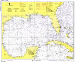 map of the gulf of mexico gulf of mexico 1975