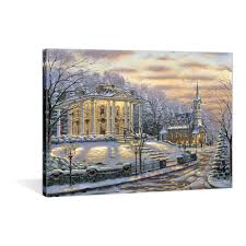 led christmas canvas painting led christmas canvas painting