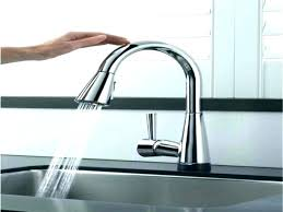 delta touch faucet red light delta touchless faucets padlords us