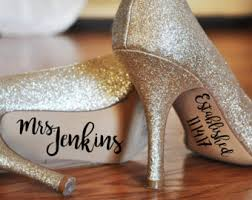 wedding shoes gauteng wedding shoe sticker etsy