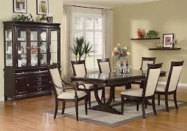 Dining Room Set Enthralling Stylish New Dining Room Sets Marvelous Large Set In
