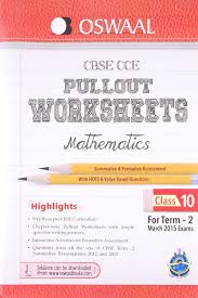oswaal cbse cce pullout worksheets for class 10 term 2