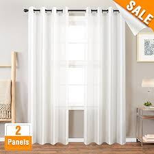 White Satin Curtains Faux Silk White Curtains For Bedroom Dupioni Window Curtain For