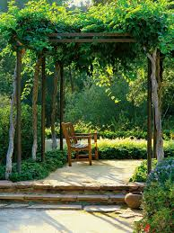 Metal Pergola Frame by Choosing A Pergola For Your Small Garden Hgtv