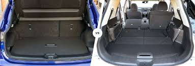 nissan rogue interior dimensions nissan qashqai vs x trail u2013 style or size carwow