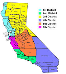 map of california counties file california counties and court of appeals map jpg wikimedia