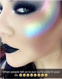 this rainbow tinted cheek prism highlighter makeup makeup