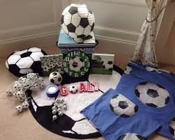 boys football themed bedroom set accessories rug bedding storage