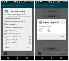 android sms backup android sms recovery retrieve deleted or lost text messages from