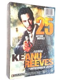 25 action movies dvd 37 hours includes brad pitt keanu reeves
